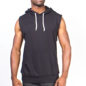 Over The Limit Sleeveless Pullover Hoodie (XXL)